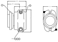 End Fittings - Straight - Male Split Clamp to Hose (EF-LFS-24MS) - 2