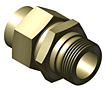 Pipe Fittings - Male Connector - Pipe Socket to Male Standard Thread