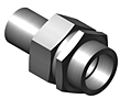 Tube Fittings - Union - Female Tube to Male Tube