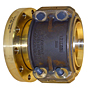 End Fittings - Straight - Flange to Hose (MIL-F-24787/1, Type F, Group IX, Class IV, 150 Lb. Flange per MIL-PRF-20042)